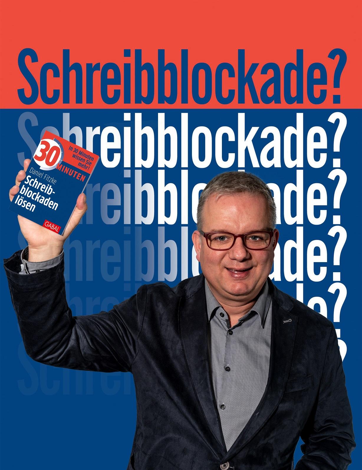 """Daniel Fitzke. Speaker und Autor von """" 30 Minuten Schreibblockaden lösen."""""""